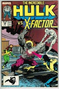 Incredible Hulk #336 (1962) - 7.5 VF- *Hulk Vs X-Factor*