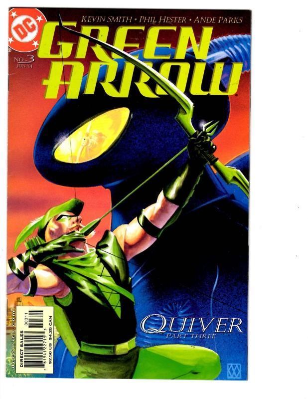 12 Green Arrow Dc Comics 1 2 3 4 5 6 7 8 9 10 11 12 Quiver Kevin
