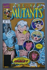 The New Mutants  #87  (Gold) VF/Better    See Actual Photo