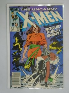 Uncanny X-Men #185 Newsstand edition 4.0 VG (1984 1st Series)