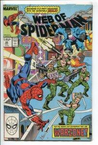 WEB OF SPIDER-MAN (1985 MARVEL) #44 FN/VF NM