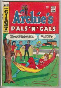 Archie's Pals 'n' Gals # 38 Strict FN+ Mid-High-Grade Pureheart and Evil Heart