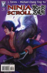 Ninja Scroll #3 VF/NM; WildStorm | save on shipping - details inside