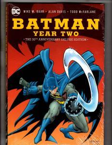 Batman Year Two Deluxe Edit. DC Comics Hardcover SEALED Graphic Novel Comic J297