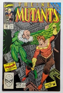 New Mutants #86 (Feb 1990, Marvel) F/VF 7.0 Rob Liefeld art 1st brief Cable