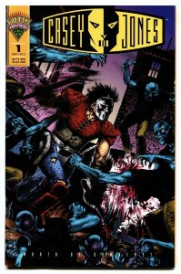 Casey Jones: North by Downeast #1 1994 TMNT comic book NM-