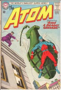 ATOM 10 GOOD  January 1964 Classic Grenade cover COMICS BOOK