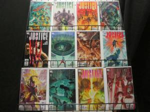 JUSTICE (2005) 1-12  ALEX ROSS  complete series!