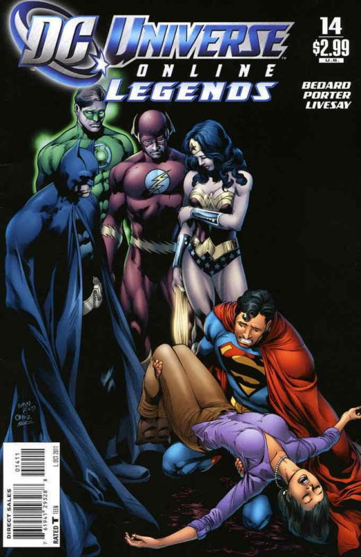 DC Universe Online Legends #14 VF/NM; DC | save on shipping - details inside