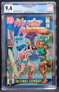 Wonder Woman #278 (DC, 1981) CGC 9.4
