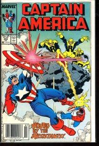 Captain America #343 (1988)
