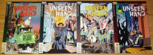 the Unseen Hand #1-4 VF/NM complete series TERRY LABAN vertigo comics