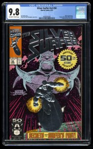 Silver Surfer (1987) #50 CGC NM/M 9.8 Off White to White