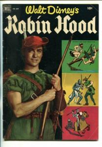 ROBIN HOOD-FOUR COLOR COMICS #669-WALT DISNEY MOVIE-vg