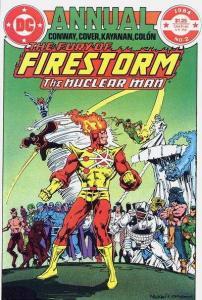 Fury of Firestorm (1982 series) Annual #2, NM- (Stock photo)