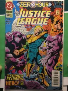 Justice League International #68 ZERO HOUR