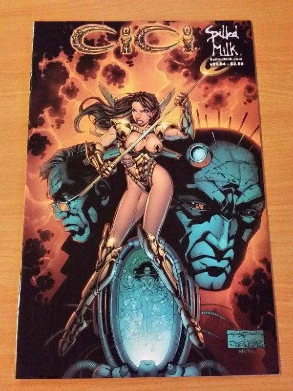 Cici #4 Variant Cover ~ NEAR MINT NM ~ (2002, Spilled Milk Comics)