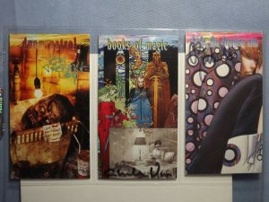 Six 1990s DC Comics VERTIGO Art Trading Cards AUTOGRAPHED CHRIS BACHALO & MORE!!