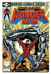 Marvel Premiere #55 First solo WONDER MAN Marvel-Nice Copy