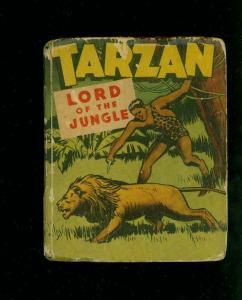TARZAN LORD OF THE JUNGLE-#1407-EDGAR RICE BURROUGHS-#1447-BIG LITTLE BOOKS G/VG