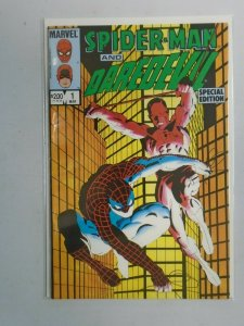 Spider-Man and Daredevil Special Edition #1 8.0 VF (1984)