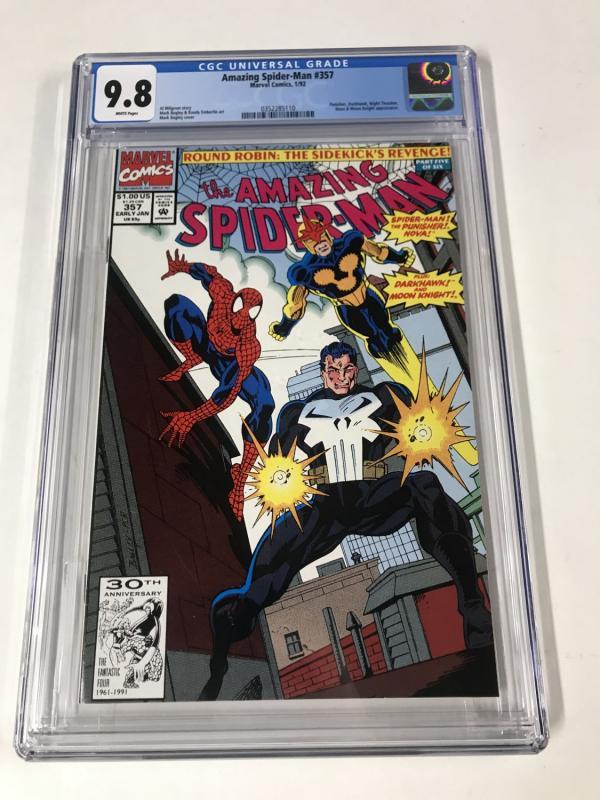 Amazing Spider-Man #357 CGC 9.8