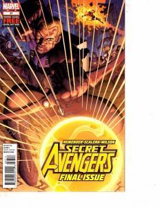 Lot Of 2 Secret Avengers Marvel Comic Book #1 37  Thor MS22