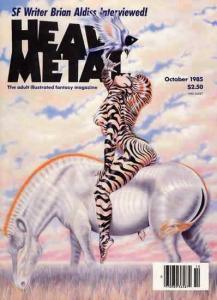 Heavy Metal #104 VF/NM; Metal Mammoth | save on shipping - details inside