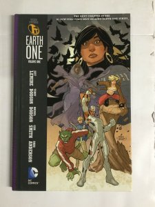 Teen Titans Earth One Volume One Nm Near Mint Hc Hard Cover Dc Comics
