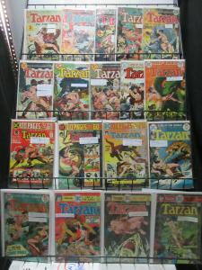 Tarzan of the Apes (DC 1972-75) #207-244 incl 100 page 18Diff Joe Kubert classic