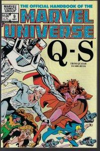 Marvel Universe #9 (Marvel, 1983) NM