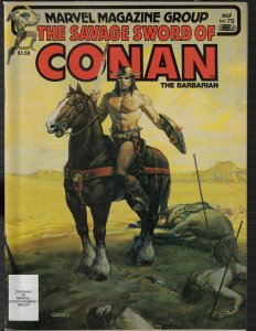 Savage Sword of Conan #76 (Marvel, 1976)