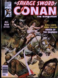 Savage Sword of Conan #11 - Early Conan Magazine - 6.0 or Better