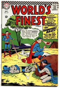 WORLDS FINEST #157 comic book 1966- SONS BATMAN-SUPERMAN