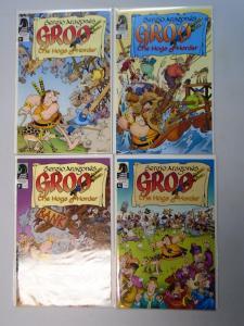 Groo Hogs of Horder (2009 Dark Horse) Set:#1-4 - 8.0/VF (2009)