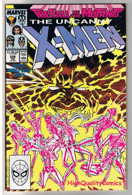 X-MEN #226, NM-. Fall of the Mutants, Wolverine, Uncanny, more in store