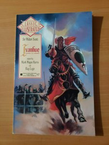 Classics Illustrated #25 Sir Walter Scott Ivanhoe ~ NEAR MINT NM ~ 1991
