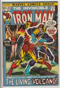 Iron Man #52 (Nov-72) FN/VF Mid-High-Grade Iron Man