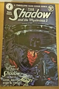 The Shadow & the Mysterious 3 #1 (1994)