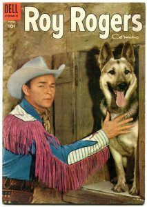ROY ROGERS #87-1955- PHOTO COVER-KING OF THE COWBOYS--FN/VF