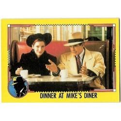 1990 Topps DICK TRACY-DINNER AT MIKE'S DINER #27