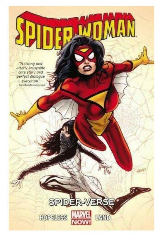 Spider Woman Volume 1 Spiderverse TPB #1 ORIGINAL Vintage 2014 Marvel Comics