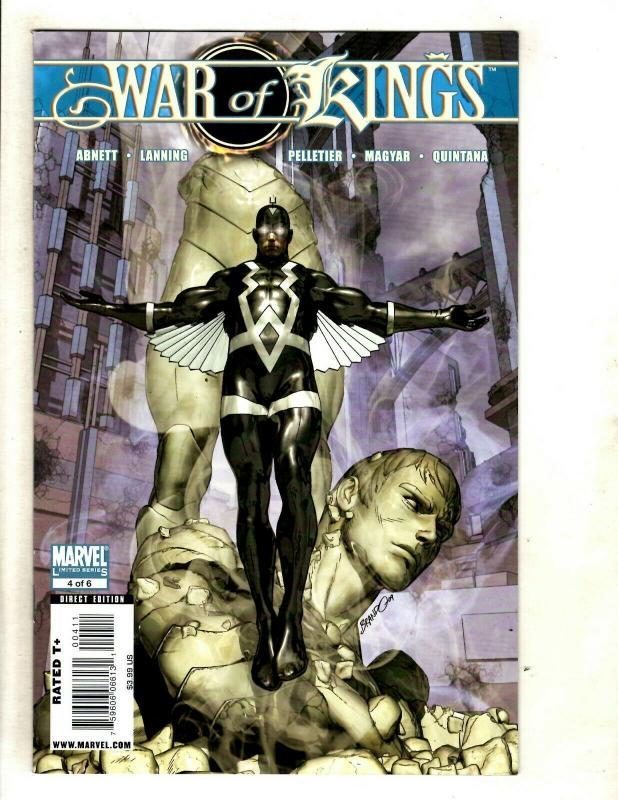 War Of Kings Complete DC Comics LTD Series # 1 2 3 4 5 6 NM Range Avengers SM8