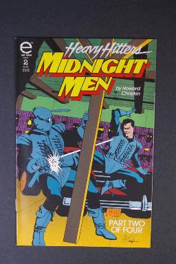 Midnight Men #2 by Howard Chaykin July 1993