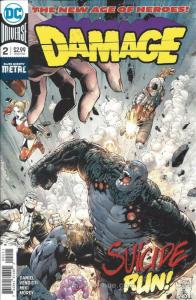 Damage (2nd Series) #2 VF/NM; DC | save on shipping - details inside