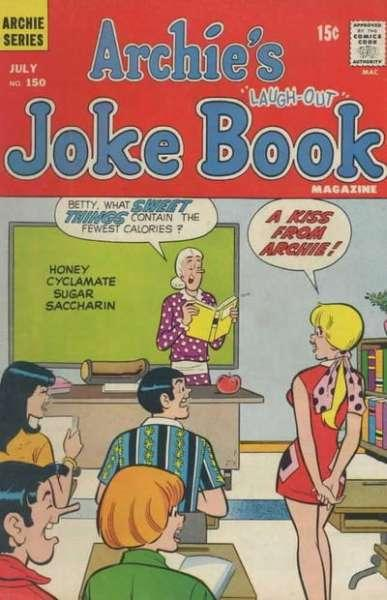 Archie's Joke Book Magazine #150, Fine (Stock photo)