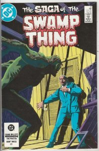 Swamp Thing, Saga Of The  #21 (Feb-84) NM/NM- High-Grade Swamp Thing