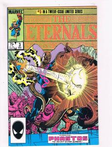 The Eternals # 3 VF Marvel Comic Books Copper Age Awesome Issue WOW!!!!!!!!! SW5
