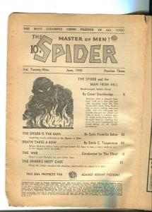 Spider 6/1943-Popular-man from Hell-P/FR