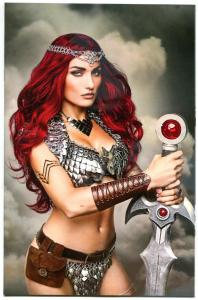 RED SONJA #3, NM, Cosplay Variant, Amy Chu, Carlos Gomez, 2017, more RS in store